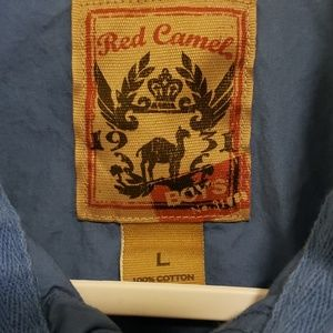 Red Camel Shirts & Tops - Boy's Red Camel Button up Shirt